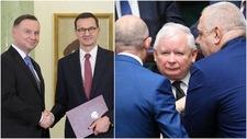 Duda, Kaczyński, Morawiecki. Wieczorem spotkanie na szczycie ws. nowego rządu
